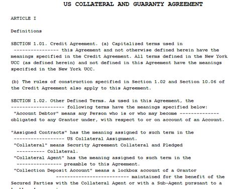 collateral loan agreement template loan agreement with collateral template 28 images