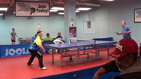 2017 pa state table tennis chionships over 50 final