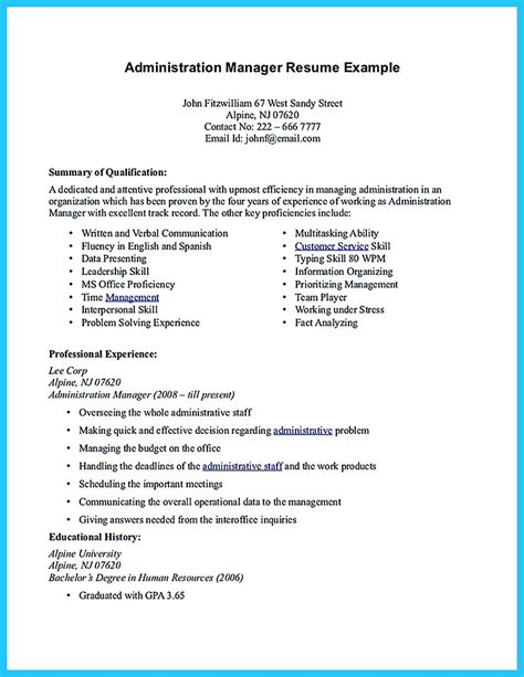 how to write a resume for an administrative assistant position impressive professional administrative coordinator resume