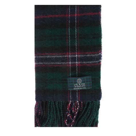 scottish national tartan scarf made in scotland 100 wool