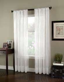 Window Sheer Curtains Soho Voile Lightweight Sheer Curtain Panel Curtainworks