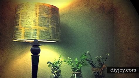 Decoupage Light Shade - awesome diy decoupage l shade diy