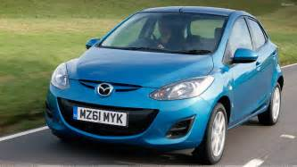 2011 mazda 2 1 5 ts2 automatic in blue front pose wallpaper
