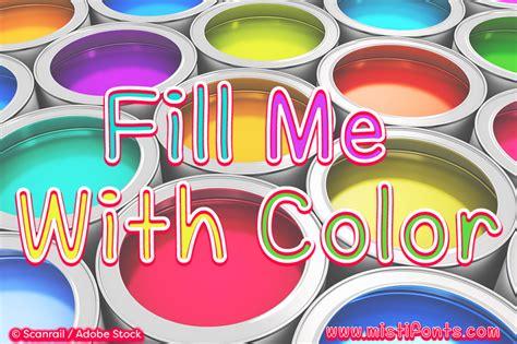 color fonts mf fill me with color schriftart dafont