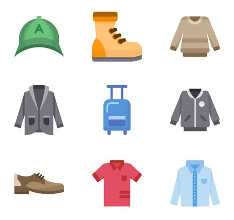 clothes icons 11 540 free vector icons