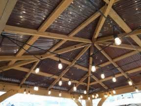 Galerry gazebo wood roof