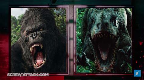 film king kong vs dinosaurus death battle king kong vs indominus rex by dimension