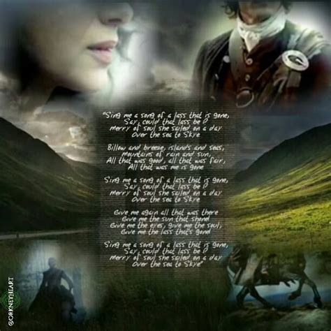 skye boat song from outlander lyrics best 25 the skye boat song ideas on pinterest theme