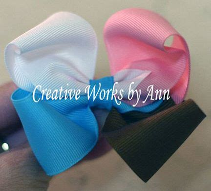 free hair bows instructions free quad color bow hairbow instructions hairbow free