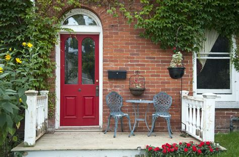 brick house with red door a picture gallery of red front doors
