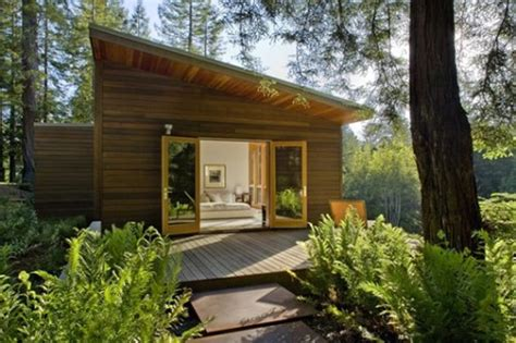 Modern Cottage Design Plans by Fourspace Modern Cottage In Sebastopol