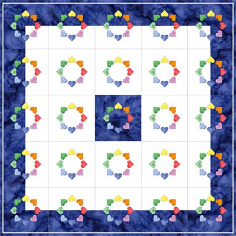 free quilt layout app inklingo circle of hearts in electric quilt all about