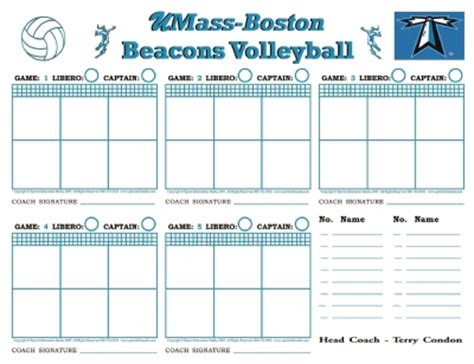 free printable volleyball lineup cards printable volleyball lineup sheets quotes