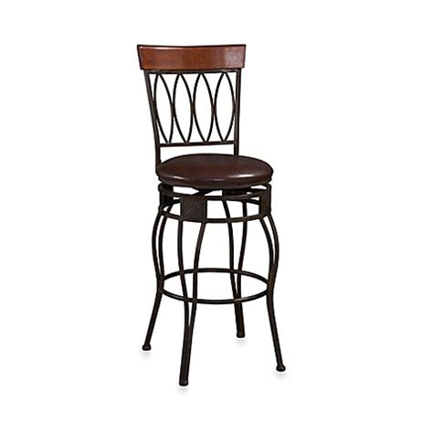 24 Inch Bar Stool With Back Buy Oval Back 24 Inch Counter Stool From Bed Bath Beyond