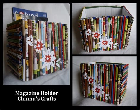 Magazine Paper Craft - magazine paper crafts paper crafts ideas for