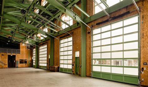full view aluminum garage door services