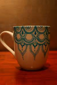 Mug Designs 25 Best Ideas About Painted Pottery On
