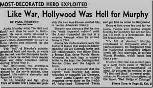 What Year Did Audie Murphy Died June 1 1971 Audie Murphy