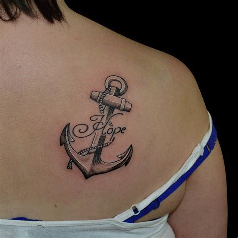 ancor tattoos 95 best anchor designs meanings of the
