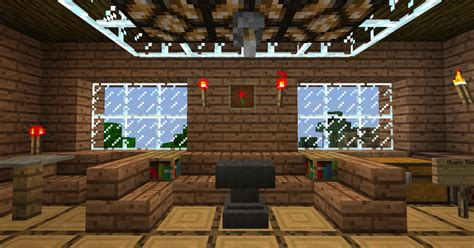 Minecraft House Living Room Minecraft Tree House The Living Room Wallpaper By