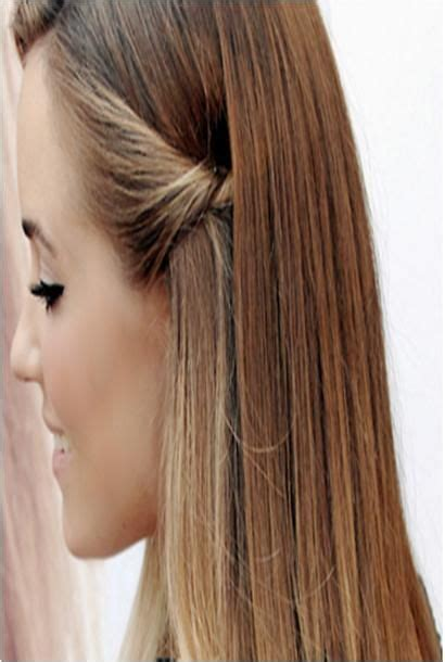 hair styles for shoulder length hair pulled back side pull back everyday hair style hairstyles