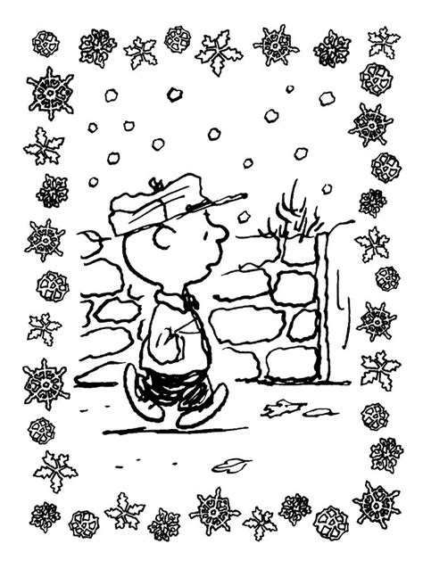 merry christmas charlie brown coloring pages free printable charlie brown christmas coloring pages for