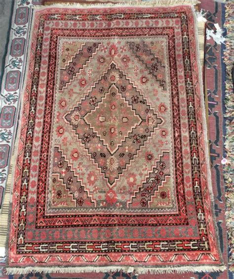 Tribal Area Rugs Woven Tribal Area Rug Coral