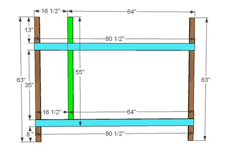 Bunk Beds Dimensions Woodwork Built In Bunk Bed Dimensions Pdf Plans