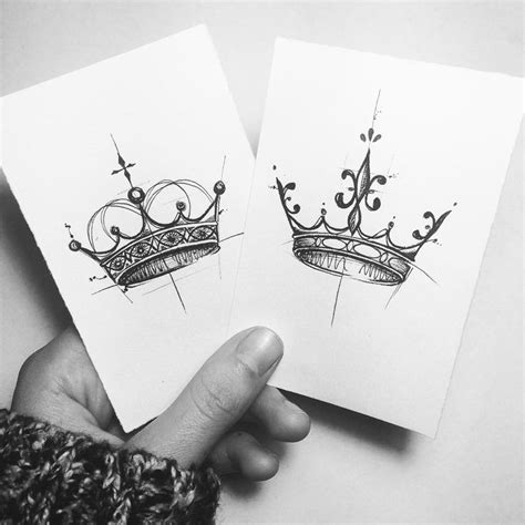 simple crown tattoo design simple crown drawing group 87