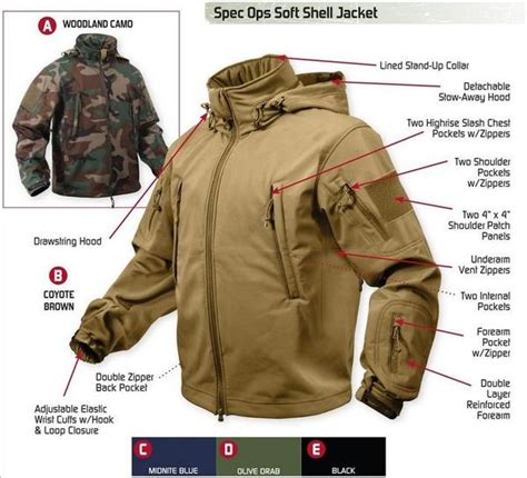 Impor Jaket Army Tad Gear Tactical Brown special ops tactical soft shell jacket w waterproof shell grunt