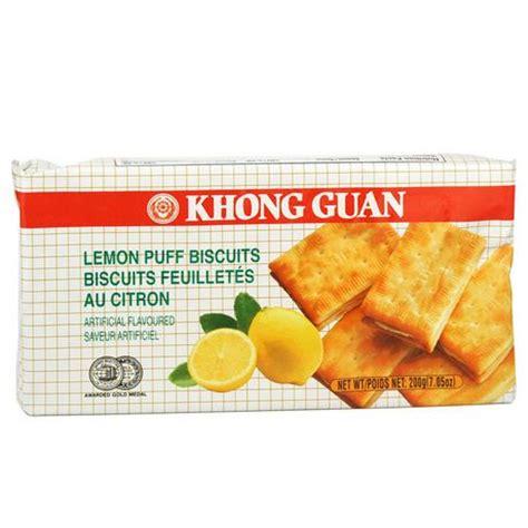 Khong Guan Crackers 200g khong guan lemon puff walmart canada