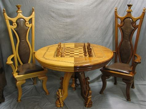 chess table and chairs chess table chairs chess set