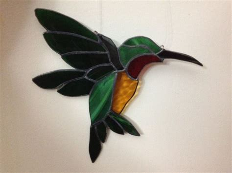 mosaic hummingbird pattern 12 best hummingbirds images on pinterest stained glass