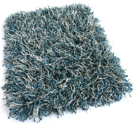 Peacock Runner Rug Runner 2 5 X9 Peacock Blue Shaggy Area Rug Carpet With Polyester Edges Contemporary Area