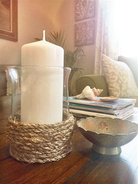 pottery barn inspired pottery barn inspired diy rope candle holder besos alina