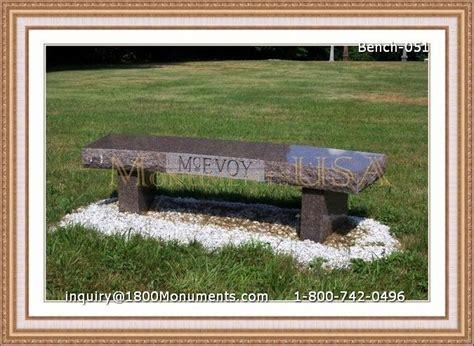bench gravestones bench headstones