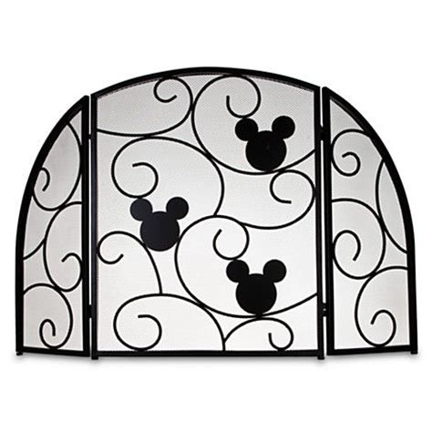 mickey mouse fireplace screen i