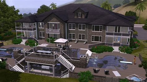 build a house the sims 3 home building the enclave let s build an