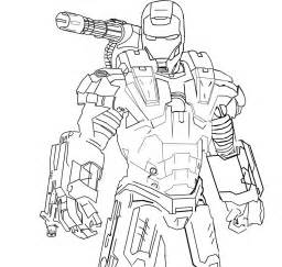 iron man coloring pages 3 patriot sketch template