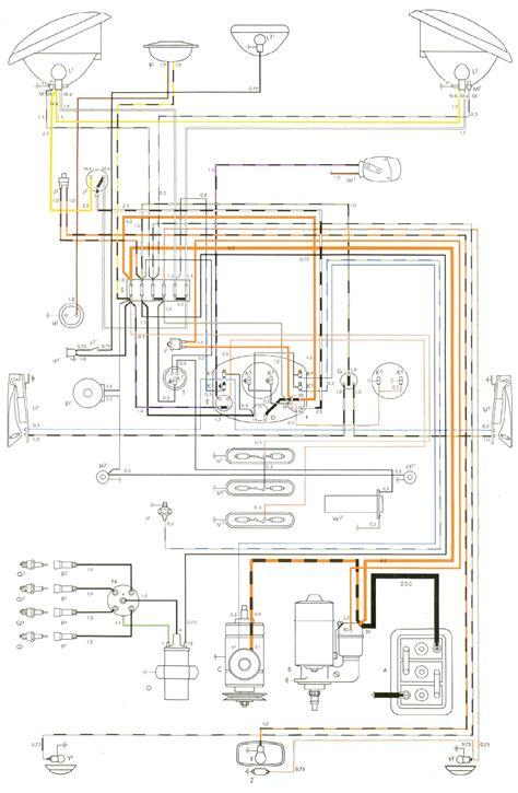 1969 volkswagen beetle wiring diagram 2002 volkswagen