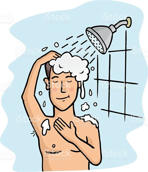 take a shower stock vector 487654479 istock