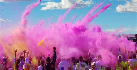 color marathon boston marathon explosion color me rad 5k to aid one fund