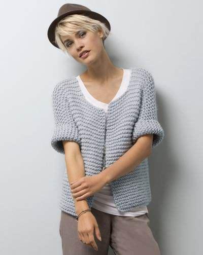 Modèle Tricot Gilet Femme Gratuit