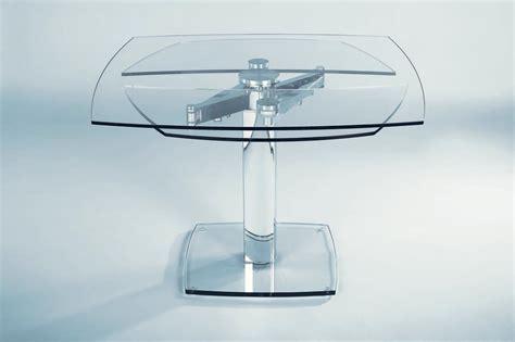 tavolo consolle allungabile offerta tavolo in cristallo allungabile advance in offerta