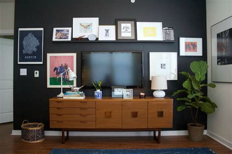 table mounted tv 10 tips for decorating around your mounted tv