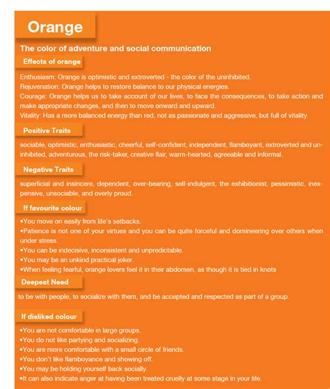 meaning of orange color orange meaning orange color psychology