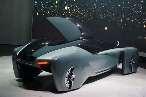 roll royce future car rolls royce vision next 100 concept with silk sofas