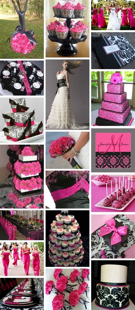 92 best pink and black wedding ideas images on