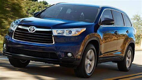 toyota model names toyota recalls 2014 highlander models due to airbag issue