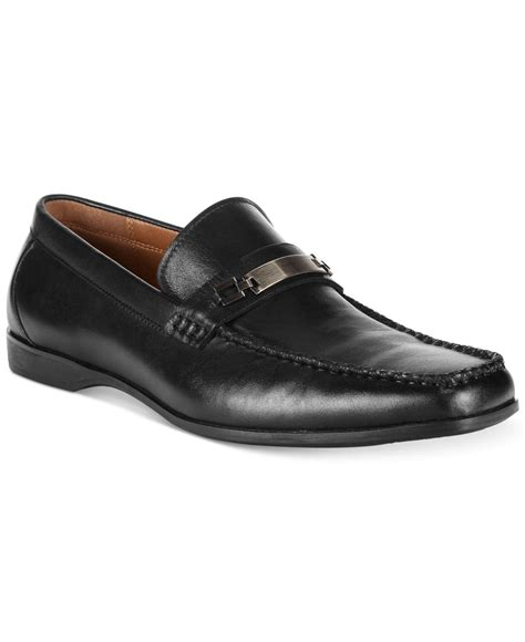 kenneth cole loafer kenneth cole reaction code word loafers in black for
